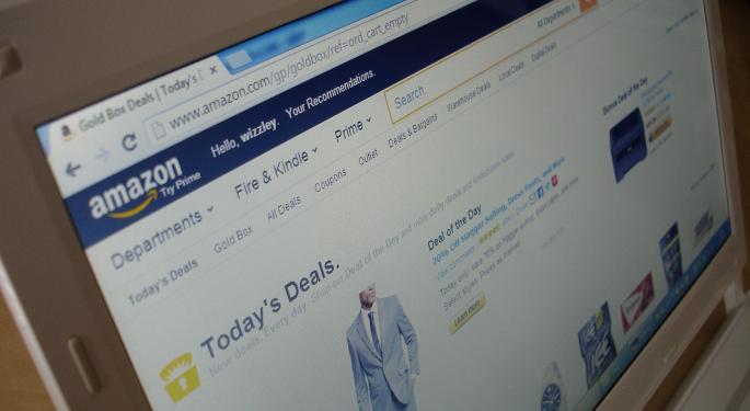 Amazon Rises After Big Q4 Beat, Net Sales Up 38%