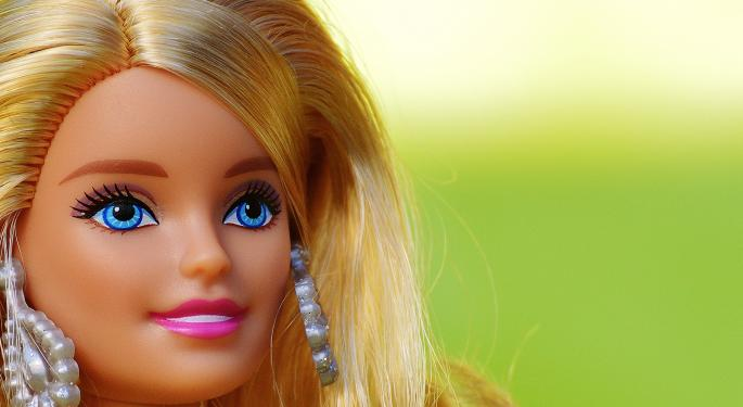 Nearly Every Mattel Segment Sees A Sales Increase