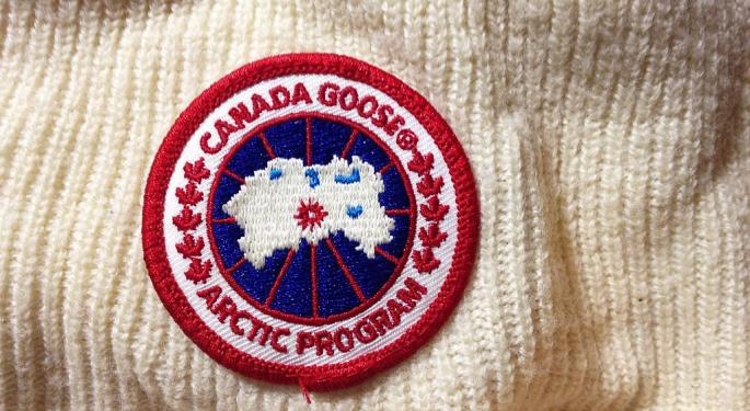 Why Canada Goose Shares Fell After A Big Q1 Beat