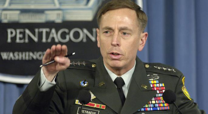 David Petraeus Likens Potential Expiration Of U.S. Export-Import Bank Charter To 'Economic Unilateral Disarmament'