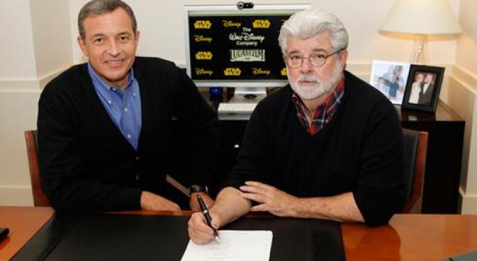 Disney Acquires Lucasfilm for $4 Billion, Announces Star Wars: Episode VII, VIII and IX