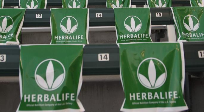 Herbalife Shares Rise Despite Reported Ackman SEC Complaint, Bob Chapman Is Astounded HLF
