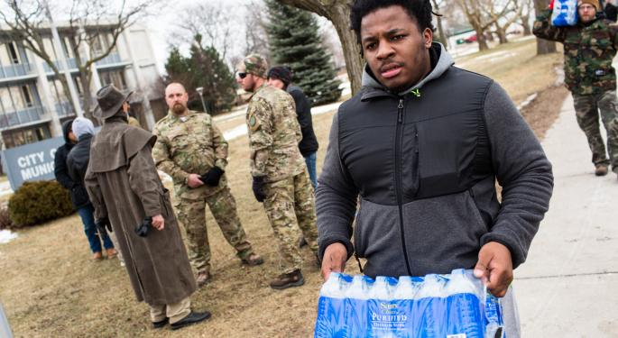 Wal-Mart, Coke And Pepsi Will Supply Flint With Water For The Rest Of The Year
