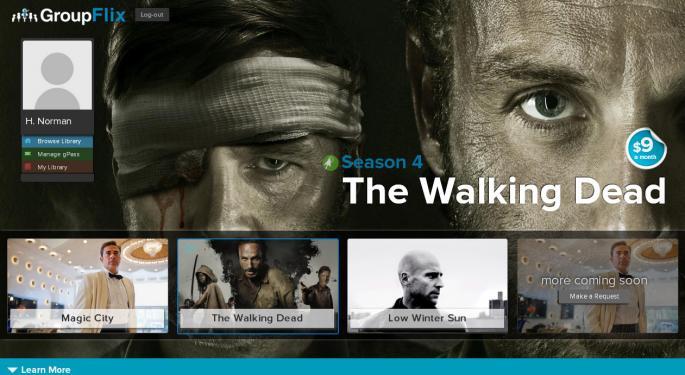 New Startup GroupFlix Is Netflix A La Carte