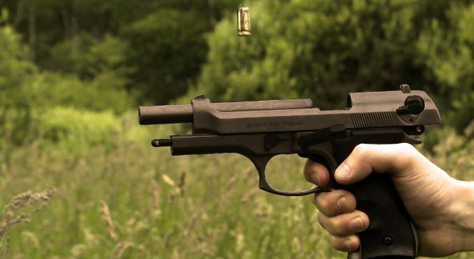 Gun Stocks Mixed On New NICS Background Numbers