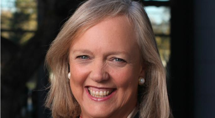 HPE CEO Meg Whitman To Step Down; HP Falters In Q4