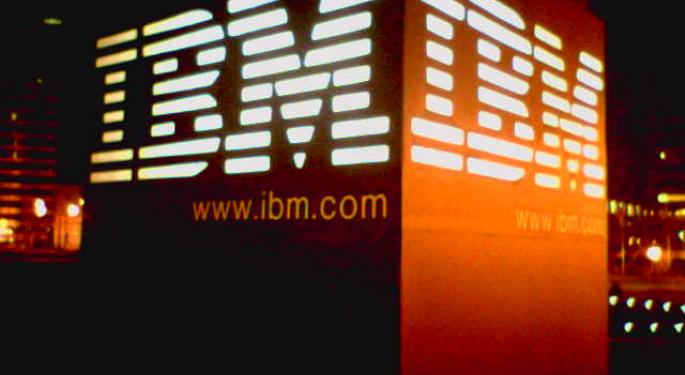 Cantor Fitzgerald: Ignoring FX Impact, IBM's Sales Are Up Over January