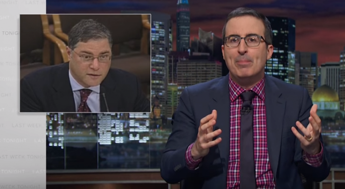 John Oliver's Latest Attack: The Credit Report Agencies