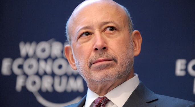 What Lloyd Blankfein Had To Say About The JPMorgan Chase Split Idea