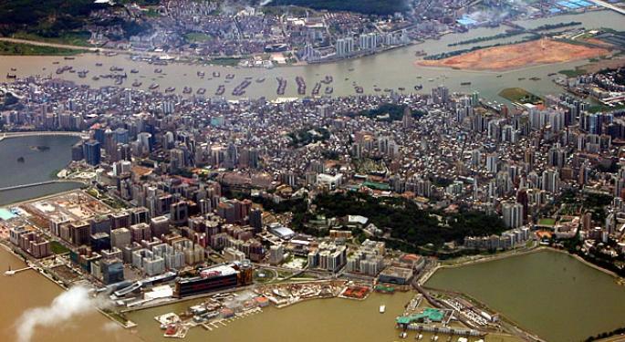 Macau's Gambling Market Is Shrinking