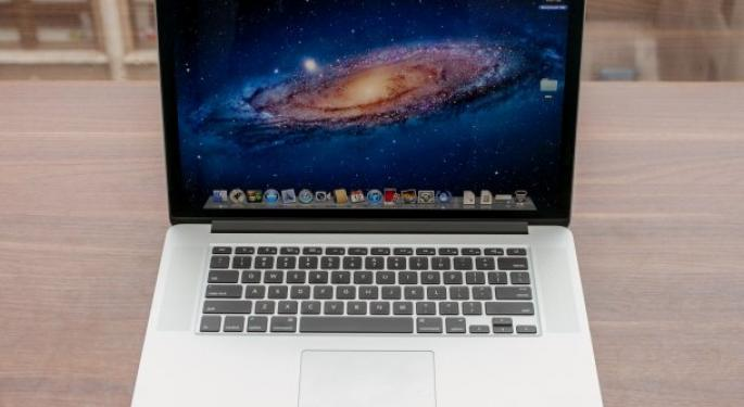 Foxconn Sees Increase in 15-inch MacBook Pro Orders from Apple -DigiTimes