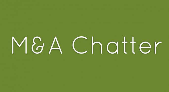 Benzinga's M&A Chatter for Wednesday September 18, 2013