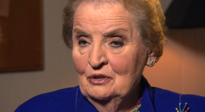 Herbalife Denies Trying to 'Woo' Madeline Albright to January 10 Event