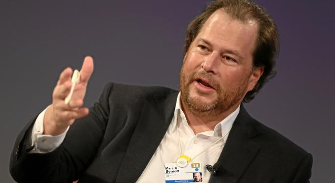 Marc Benioff Talks Earnings: It's All About CRM And Salesforce Is Leading The Way