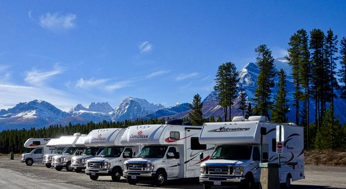 Is Winnebago's Stock Overheating? Analyst Thinks Its Valuation Is Starting To Look Pricey