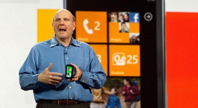 Microsoft Testing Own Smartphone Design