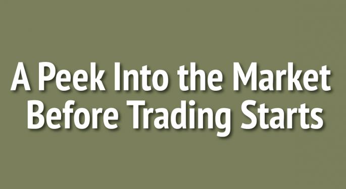 A Peek Into The Markets: U.S. Stock Futures Slightly Lower Ahead Of Economic Data