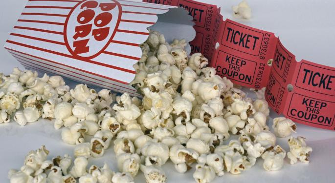 Regal Entertainment, Cinemark Upgraded By Morgan Stanley; Concerns Of Disappointing Summer Box Office Overdone