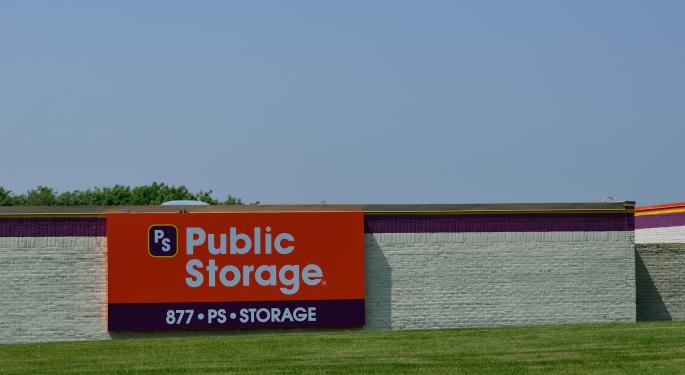 Public Storage Gets A Boost As Goldman Sachs Removed Co. From Its Sell List