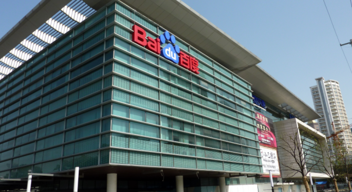 Deutsche Bank On Baidu: 'Out Of Sight, Not Out Of Mind'