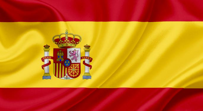 Spain Back In The Spotlight, Euro Sagging