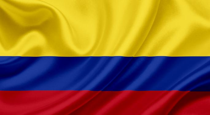 iShares Colombia ETF to Debut Thursday