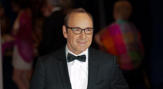 E*Trade Sets Kevin Spacey As New Poster Boy‏‏‏