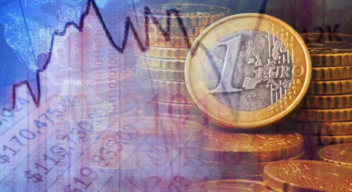 Euro Strengthens On Better Than Expected PMI