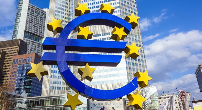 Euro Slips Below $1.30
