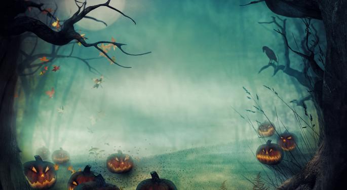 ETFs Scarier Than Halloween VXX, GLDX, SCIF, JO