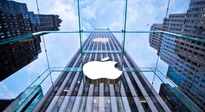 Apple Breaks Below $500