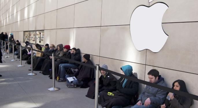 Prepare for Long Lines - No Pre-order for Apple iPhone 5S AAPL