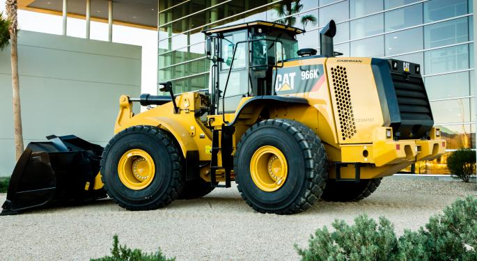Caterpillar Misses on Earnings and Lowers Guidance, Inches Ahead on Stock Repurchase