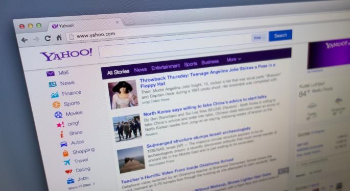 Yahoo! Rally Taking A Breather, Shares Down 2% From Recent Highs