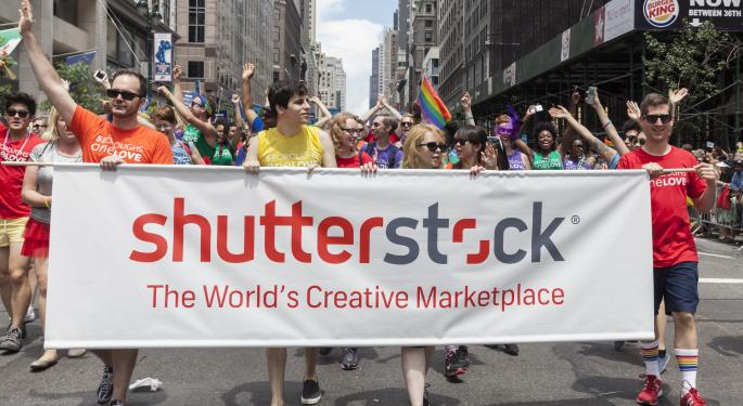 Planning For A Breakout With Shutterstock SSTK