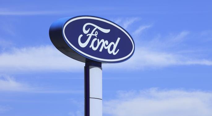 Mid-Morning Market Update: Markets Rise; Ford Profit Tops Street View
