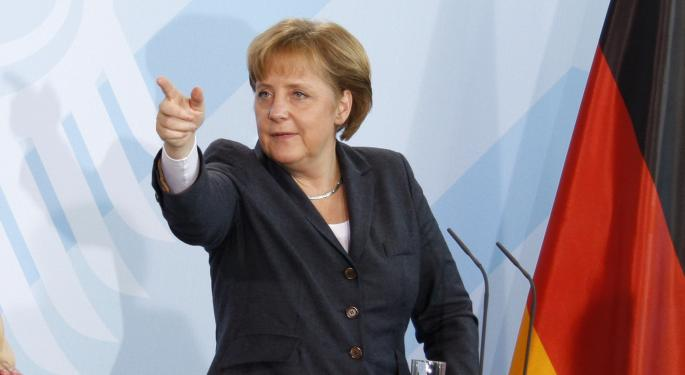 Merkel Unable To Move Forward With Her Agenda