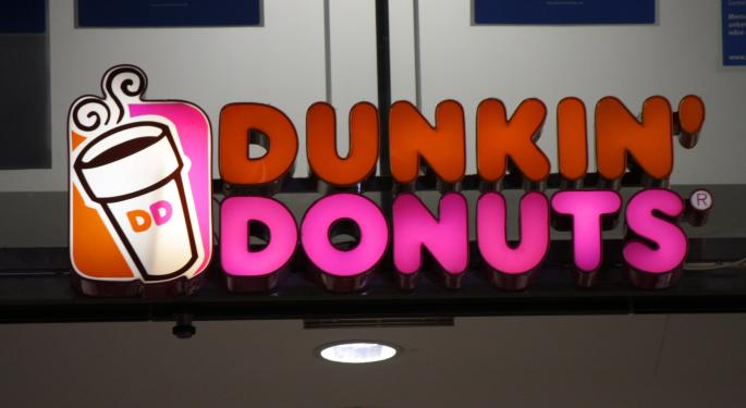 Coffee Won't Keep Dunkin' Shareholders Warm: Shares Dip Following Disappointing Results