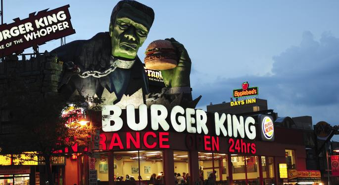 Is Burger King the Emerging Play in the Burger Trade?