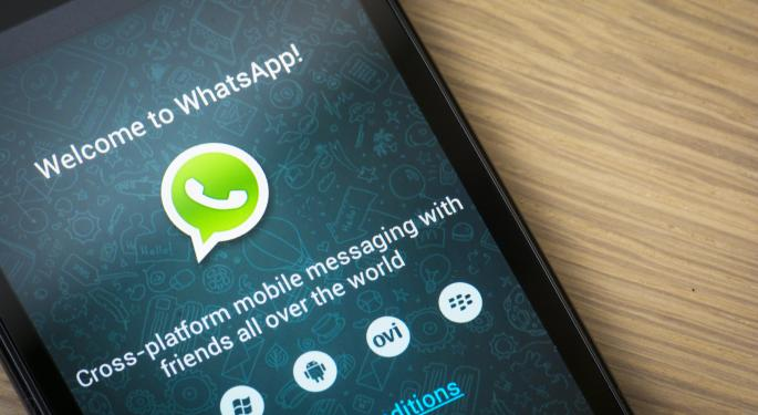 Facebook Could Eliminate WhatsApp's $0.99 Fee