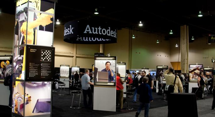 Autodesk Falls After Q4 Report; Weak Guidance