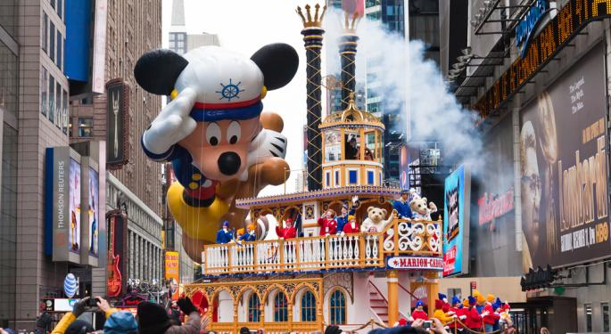 Disney Up Slightly After Q1 Results Beat Estimates