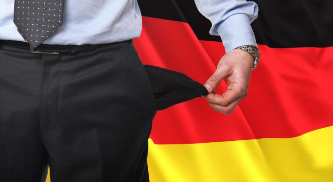 German Economy Down, But Not Out