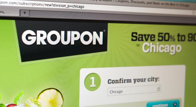 Groupon Revisits Important Technical Level of $12