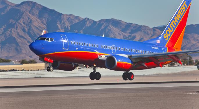 Short Sellers Continue to Shy Away from Southwest Airlines LUV, SAVE, UAL