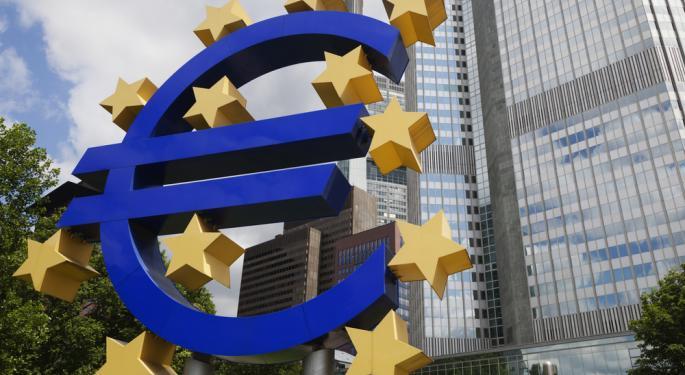 Euro Holding Near $1.30 Ahead of ECB Meeting
