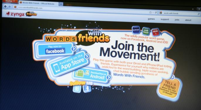 "Zynga Doesn't ""Like"" Facebook's Big Gaming News"