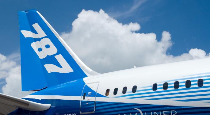 Boeing to Keep Using Lithium Ion Batteries in 787s