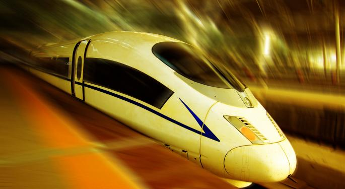Is High Speed Rail the Next Big Transportation Investment Play?