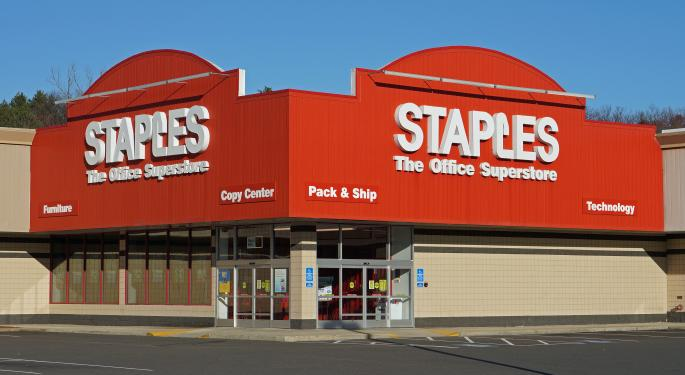 Staples' Mediocre-At-Best Q1